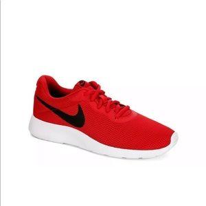 Nike Tanjun Mens Running Shoes Red NWOB 812654-601